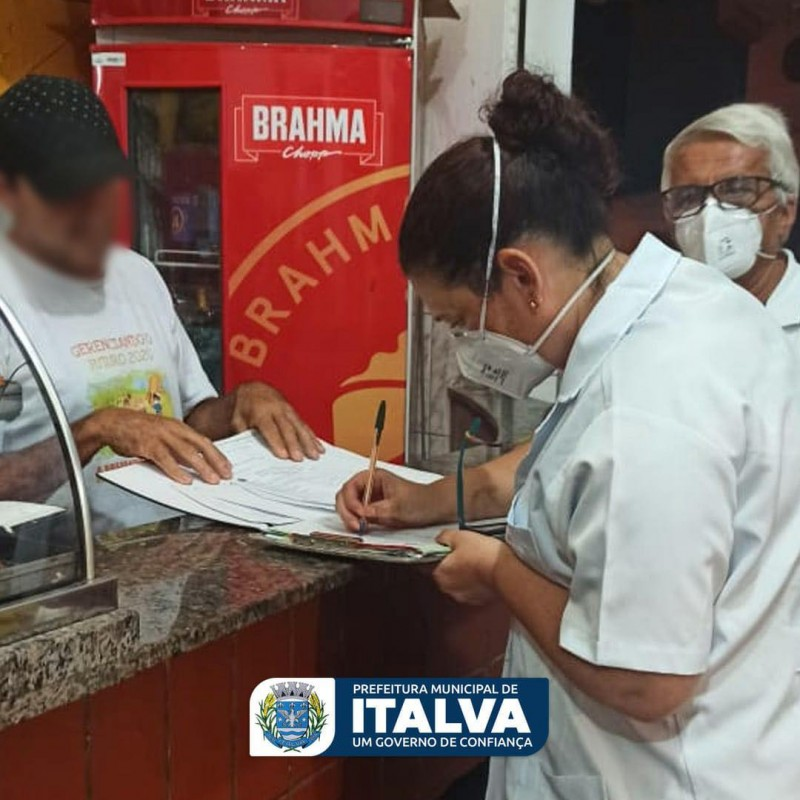 PREFEITURA DE ITALVA AUMENTA A FISCALIZAÇÃO CONTRA A COVID-19