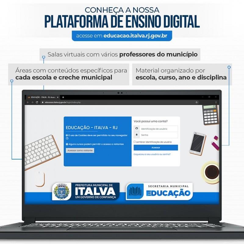 ITALVA DISPONIBILIZA PLATAFORMA DIGITAL PARA ESTUDANTES